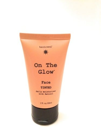 Tan Towel On The Glow Face 2oz