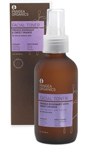 Pangea French Rosemary with Sweet Orange Facial Toner 4 oz / 120 ml