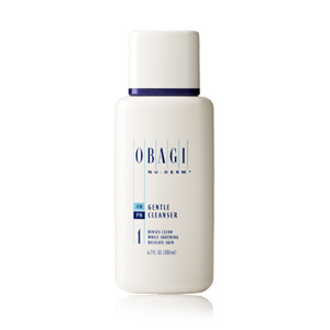 Obagi Nu-derm Gentle Cleanser (1) Travel Size 2 oz / 60 ml