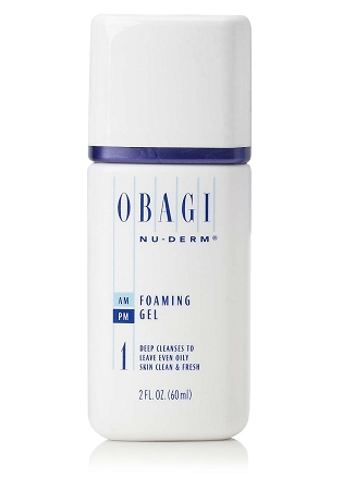 Obagi Nu-Derm Foaming Gel (1) Travel Size  2 oz / 60 ml