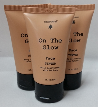 Tan Towel On The Glow Face 2oz 3-Pack