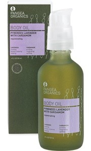 Pangea Pyrenees Lavender with Cardamom Body Oil 4 oz / 120 ml