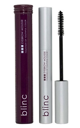 Blinc Eyebrow Mousse Clear Net Wt: 0.14 oz / 4 g